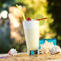 Cava Colada Cocktail