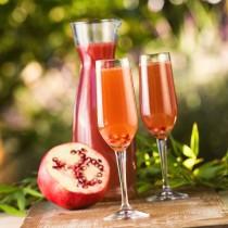 Cran-Pomegranate Mimosa