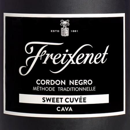 Freixenet Cordon Negro Sweet Cuvée cava