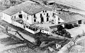 La Freixeneda, the original 19th century winery